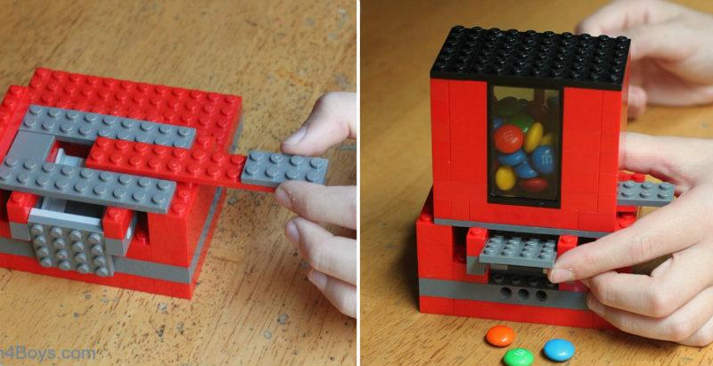 Make Homemade Candy Dispenser Easy Craft Ideas