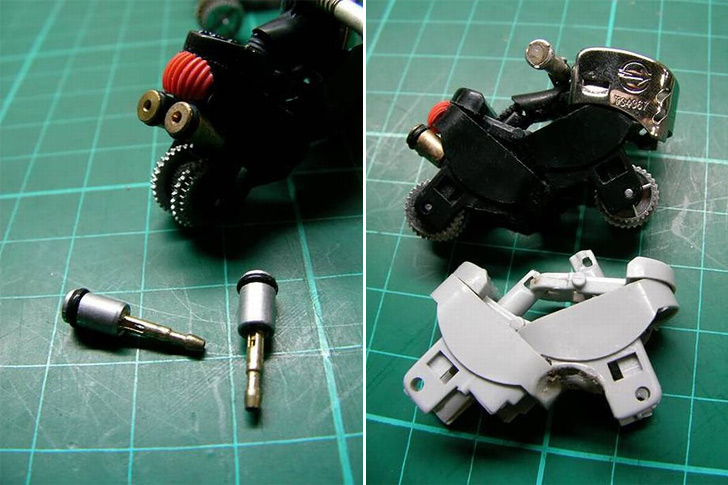 Turn a Lighter into a Mini Motorcycle 05