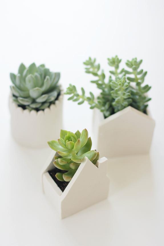Little House Clay Pots