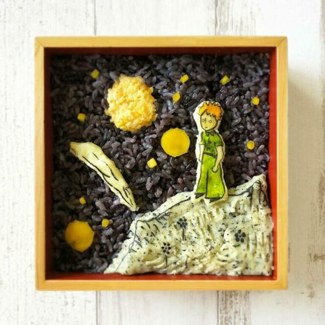 22 Amazing Lunchboxes Created by an Artist for Her Husband. True Works of Art!