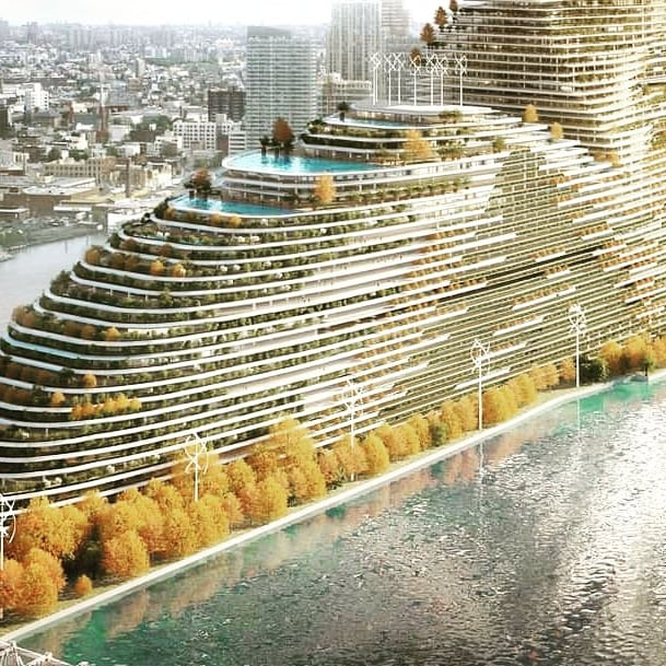 Mandragore – the Largest Building in the World Cleaning the Air. This Is the Construction of the Future