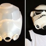 Milk Jug Storm Trooper Helmet