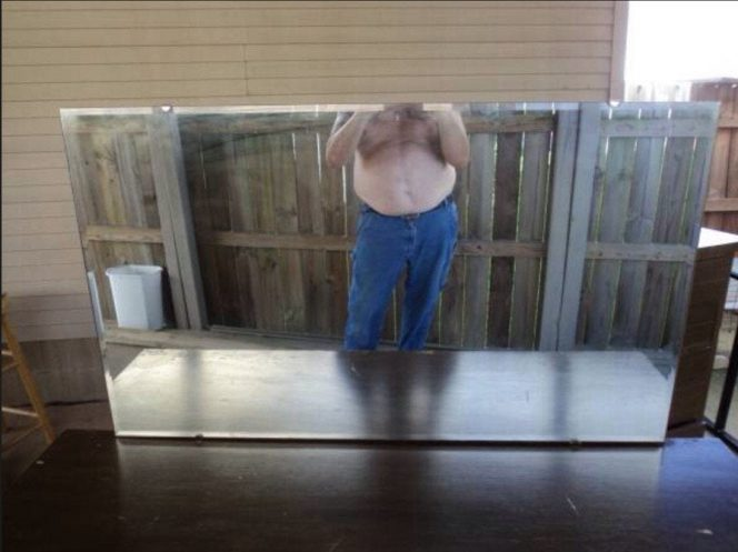 How to Take an Ideal Photo of a Mirror. 19 People Who Stood up to the Challenge