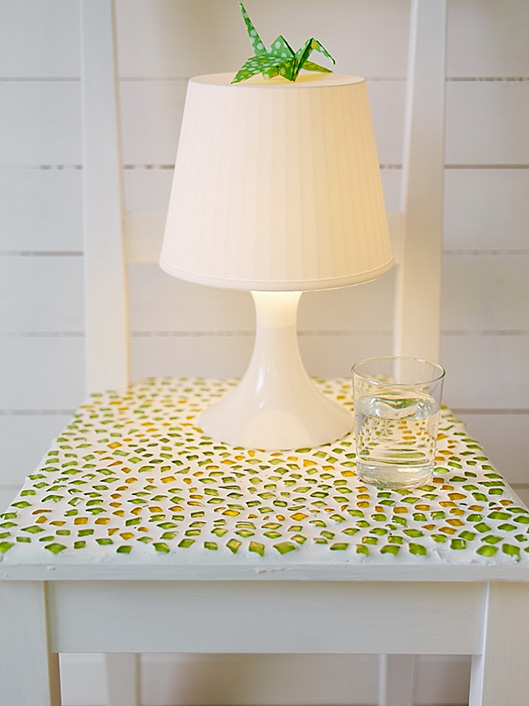 Mosaic Bedside Table
