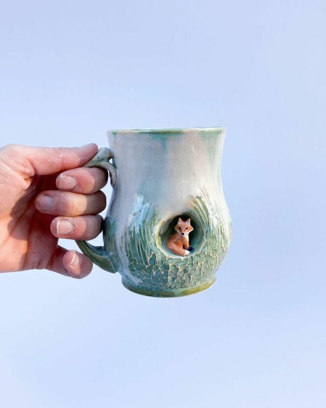 15 Charming Mugs With a Nook for Tiny Animals. Each of Them Is Special
