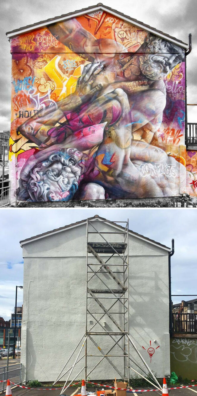 21 Buildings Transformed Thanks to Murals. Outdoor Art at Its Best