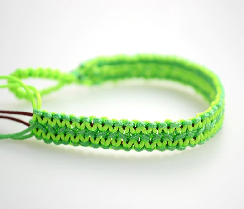 Neon String Bracelet
