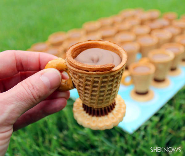 No Bake Edible Teacups