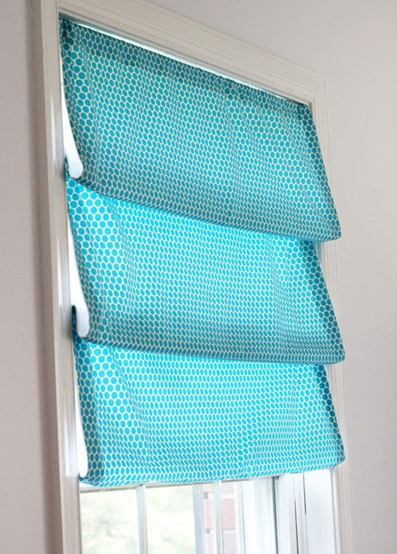 How to Make No Sew Window Shade - DIY & Crafts - Handimania