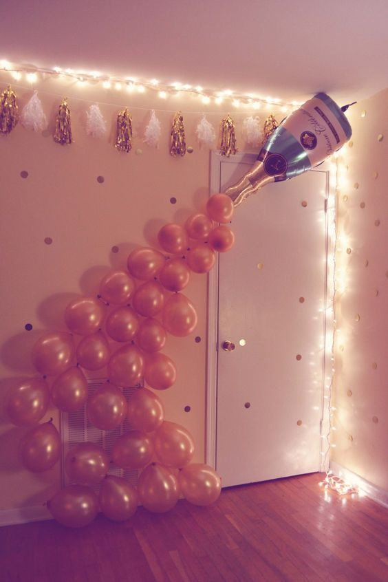 10 Amazing Decorations for New Year's Eve! They Look Beautiful in the Pictures