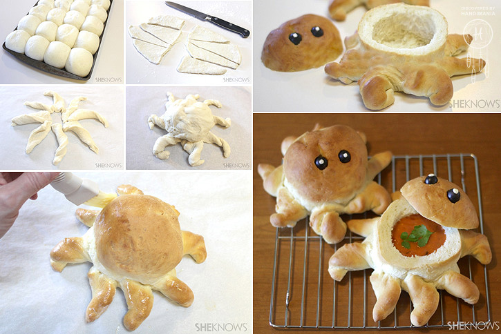 Octopus-shaped Soup Bowls