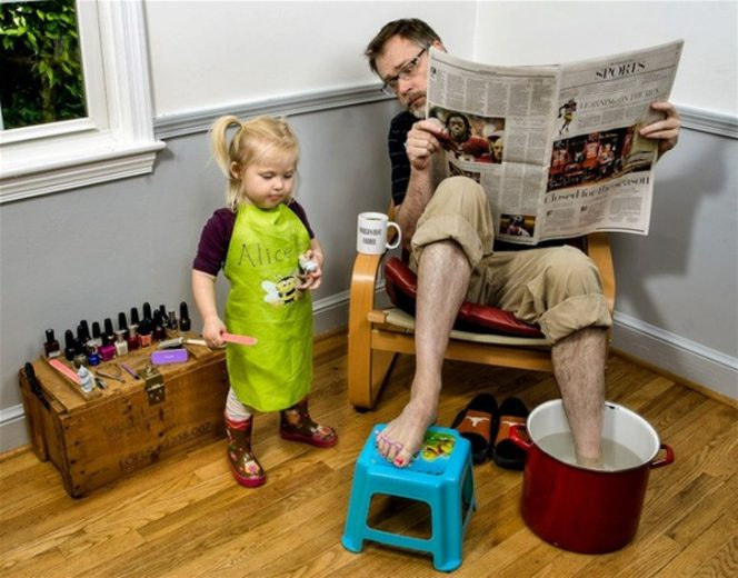 20 Photos Proving That Fathers' Creativity Knows No Limits
