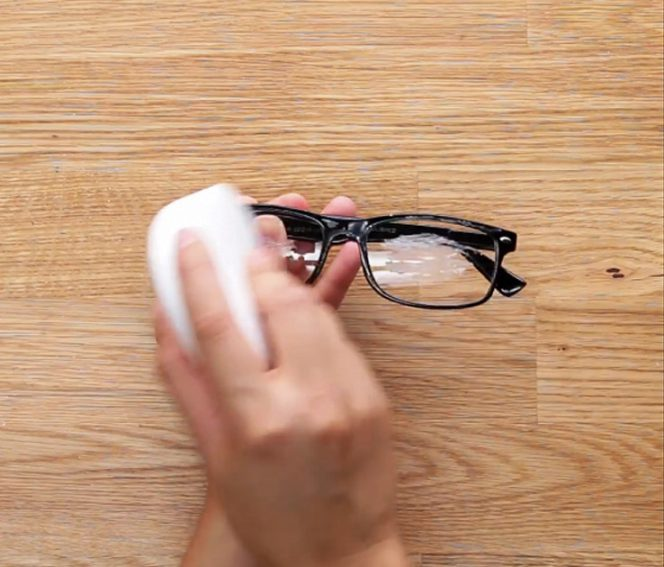 Apply Some Soap Onto Your Glasses. The Trick Is Very Useful at Temperature Fluctuations