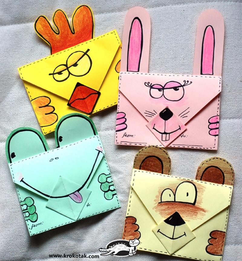 Briefe Falten Origami : Origami envelope