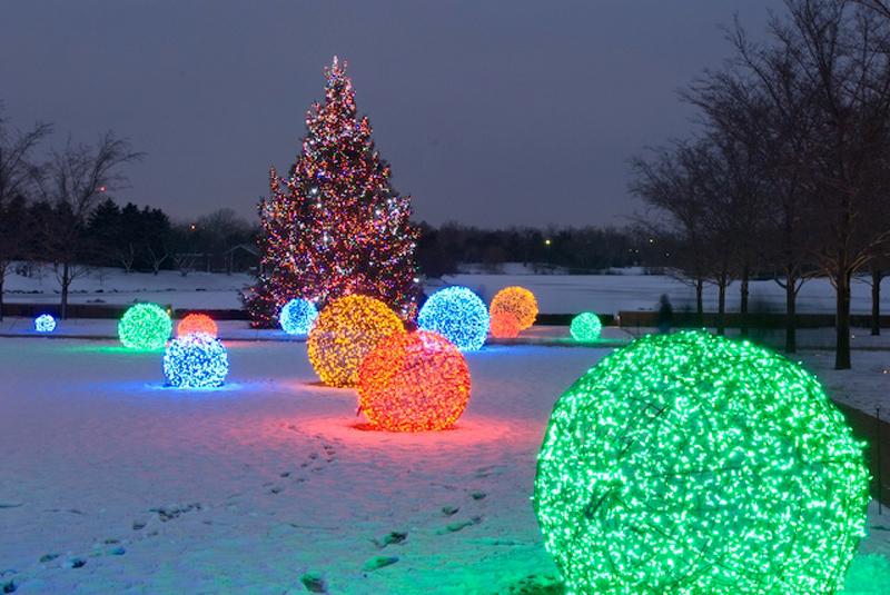 Christmas Light Balls.How To Make Outdoor Light Ball Diy Crafts Handimania