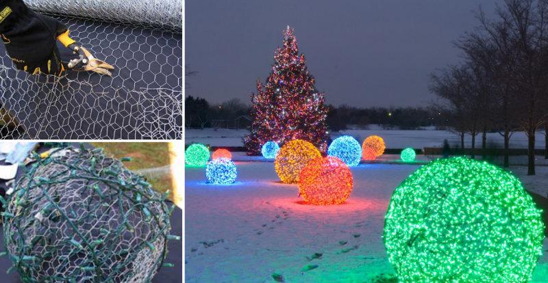Christmas Outdoor Ball Lights