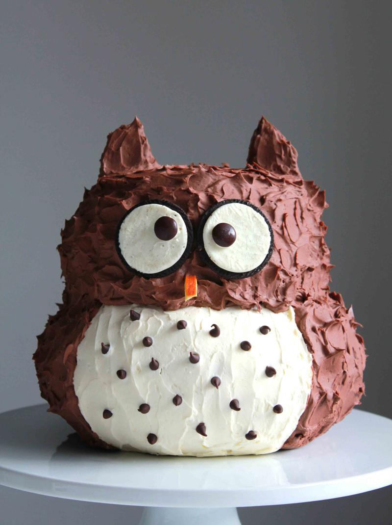 How to Make Owl Cake Cooking Handimania