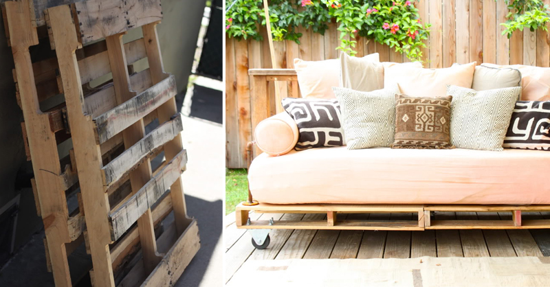 Pallet Patio Couch Diy
