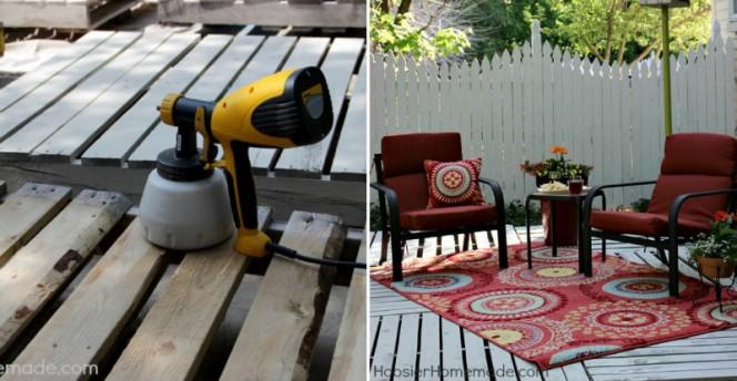 pallet patio deck fb