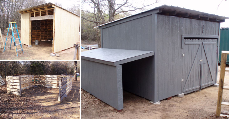Wood Pellet Shed ~ Hollans models build wood platform sheds