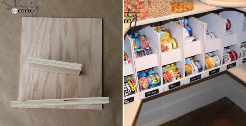 how to make pantry storage organizer diy crafts