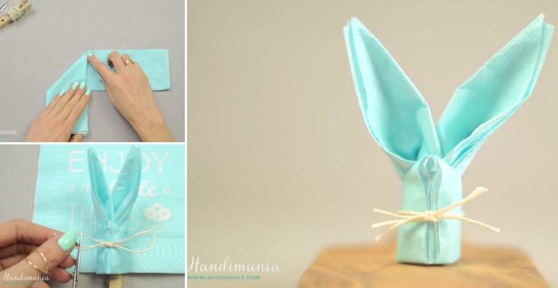 How To: Arrow Napkin Fold   Paper napkin folding, Fancy napkin ...   413x800