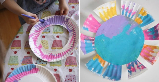 paper plate flowers fb