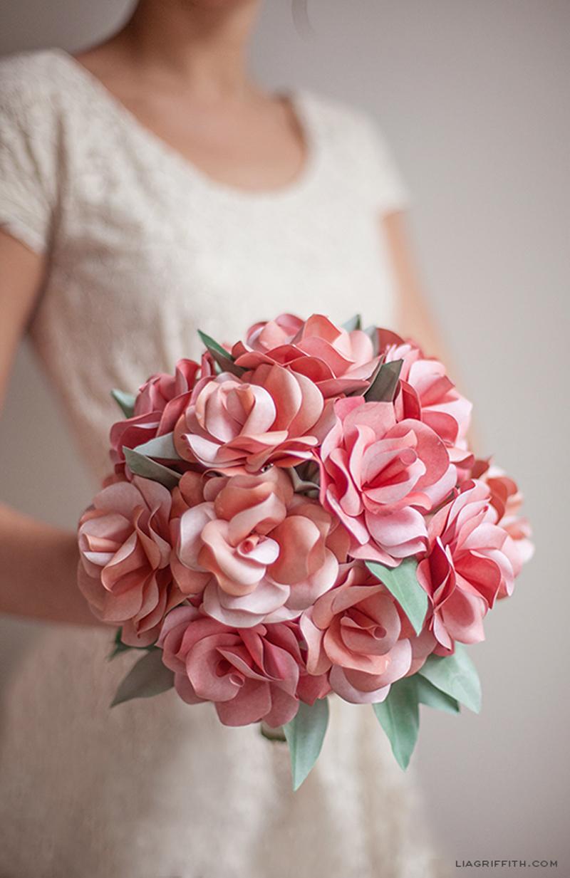 how to make paper rose bouquet - diy  u0026 crafts