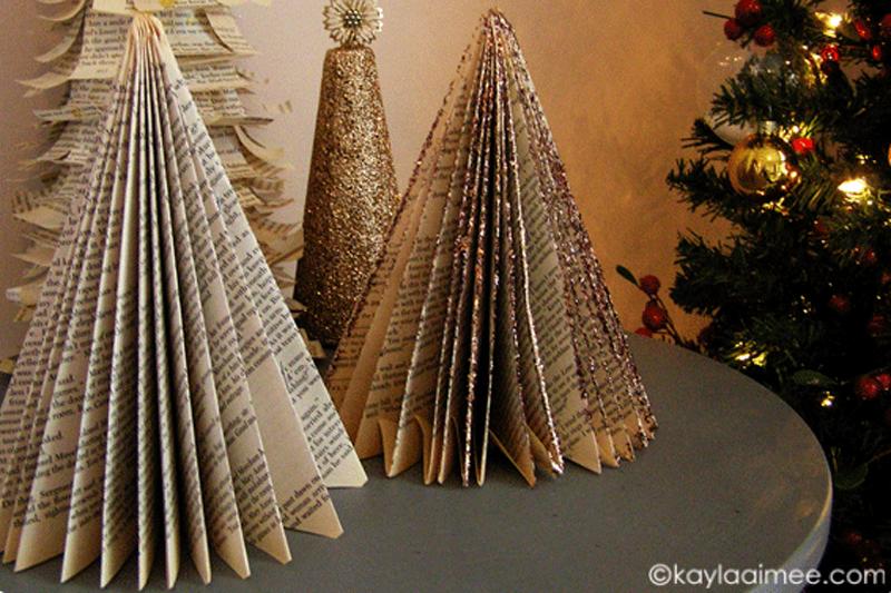 How to Make Paperback Christmas Tree - DIY & Crafts - Handimania