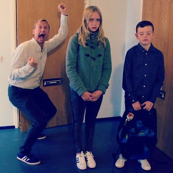 20 Examples of Parents Walking on Air as Their Children Finally Go to School