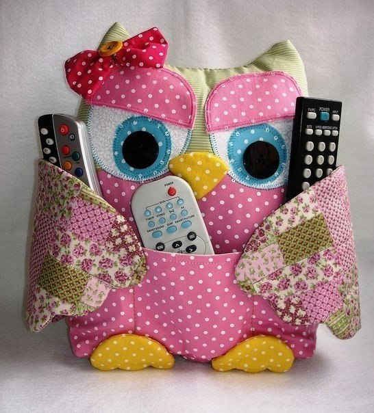 Patchwork Owls
