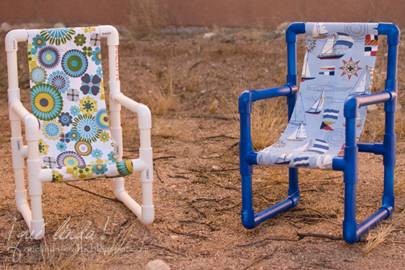 how to make plastic pipe toddler chair diy crafts