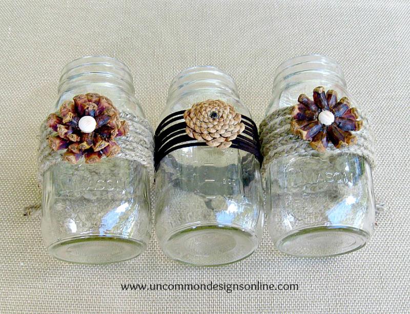 pine-cone-embellished-mason-jars-04