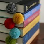 Pom Pom Bookmarks