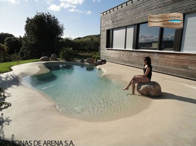 The Latest Trend This Summer – Sand Pools for Everyone Who Wants Some Maldives Feeling in the Garden!