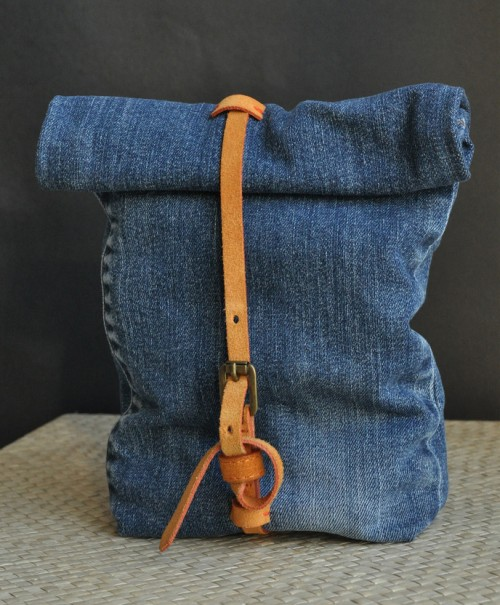 Recycled jeans bag 500x605