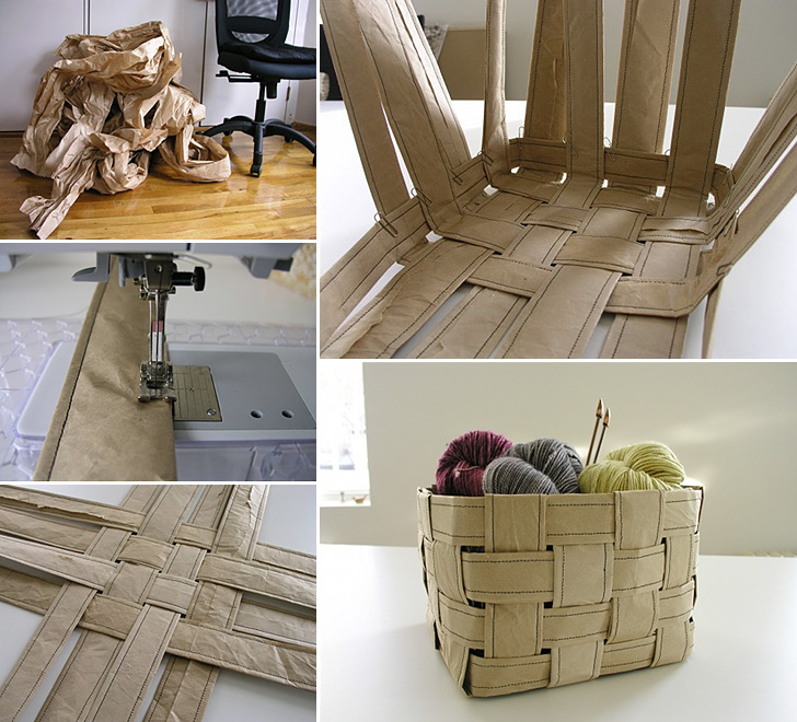 Recycled Paper Basket
