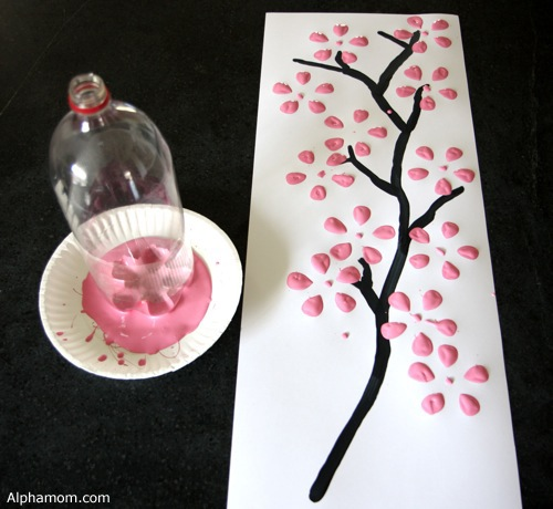 Recycled Soda Bottle Art