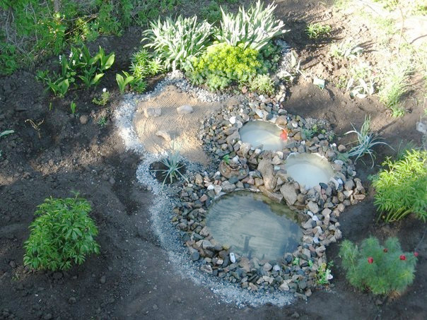 Recycled Tires Pond