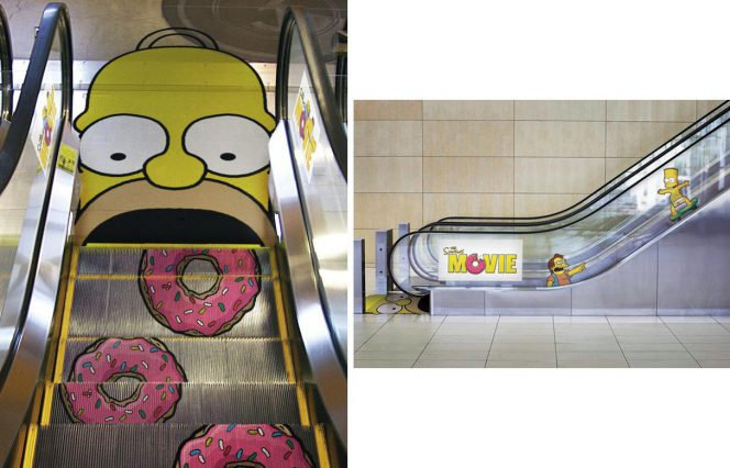 24 Advertisements Displayed in Public Space. The Competition Stands No Chance!