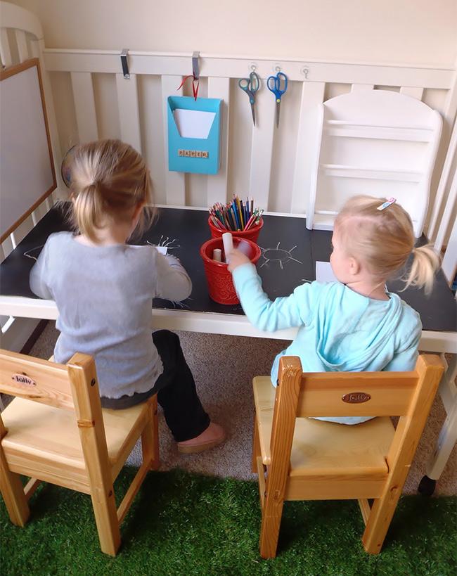 Repurposed Cot - Kids
