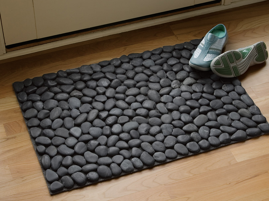 how to make river stone doormat diy crafts handimania