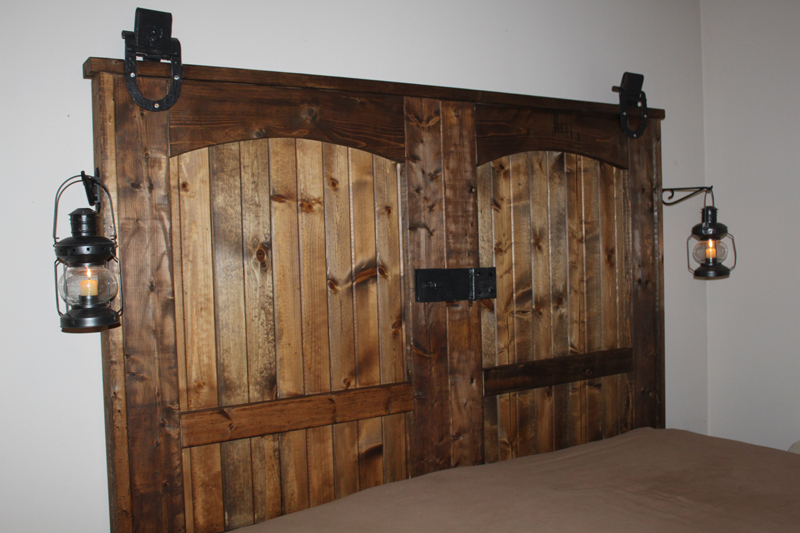 How To Make Rustic Wood Headboard DIY amp Crafts Handimania