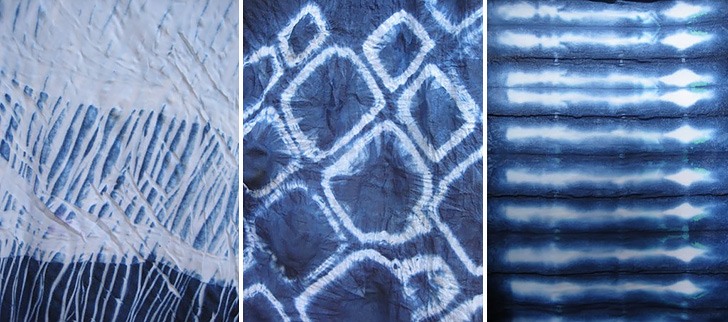 Shibori Dyed Clothes