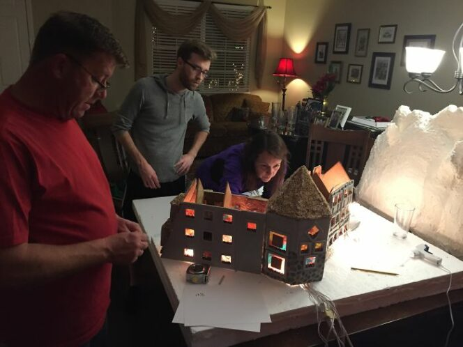 Amazing Gingerbread House Inspired by Cult Movie. You Need to See It!