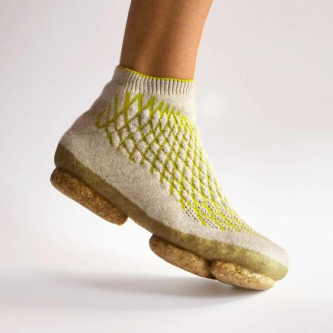 Footwear Revolution. Eco-Sneakers Made of Dog Fur and Mycelium!