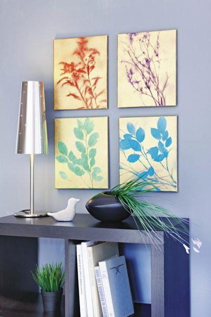 Silhouette Botanical Canvas