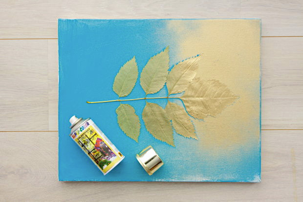 Silhouette Botanical Canvas 04