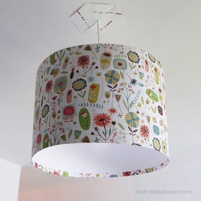 How to make simple lampshade diy crafts handimania simple lampshade aloadofball
