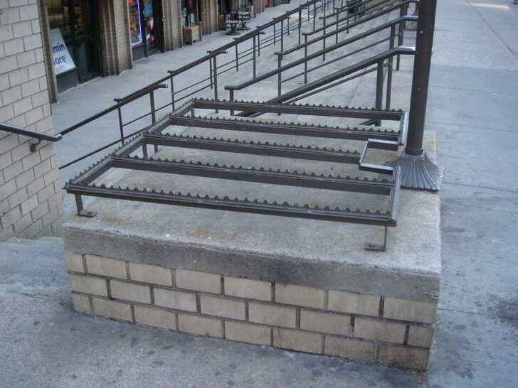 15 Defensive Architect Solutions Preventing Loiters & Homeless from Overtaking Public Spaces